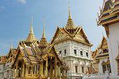 Bangkok royal palace at wat phra kaeo temple, Thailand