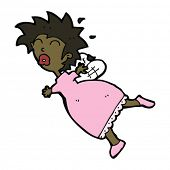 cartoon stressed tooth fairy