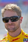Ft WORTH, TX - JUN 08:  Ryan Hunter-Reay (28) prepares to qualify for the Firestone 550 race at the