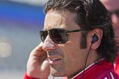 Ft WORTH, TX - JUN 08:  Dario Franchitti (10) prepares to qualify for the Firestone 550 race at the