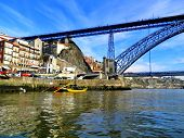 Porto, Northwest Of Portugal, At The Mouth Of The Douro River poster