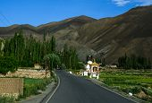 Mountain Road Of Ladakh, Northern India poster