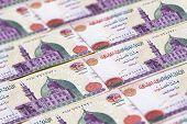 Money Of Egypt. Egyptian Pound Background. Egp poster