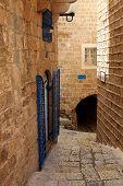 Street of Jaffa, Israel