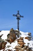 Iron Cross In Alps