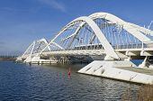 picture of ijs  - Enneus Heerma bridge in Amsterdam - JPG