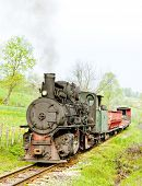 stock photo of former yugoslavia  - narrow gauge railway - JPG