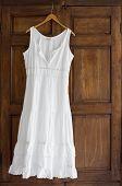 White Dress On Wardrobe