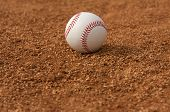 picture of infield  - Baseball in the Infield with room for copy below - JPG