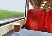 Cup On A Train