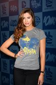 LOS ANGELES - MAR 21:  Katherine Webb arrives at the Batman Product Line Launch at the Meltdown Comi