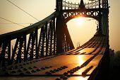 Liberty Bridge - Budapest, Hungary High Contrast Image