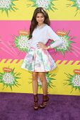LOS ANGELES - MAR 23:  Zendaya Coleman arrives at Nickelodeon's 26th Annual Kids' Choice Awards at t