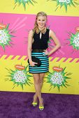 LOS ANGELES - MAR 23:  Caroline Sunshine arrives at Nickelodeon's 26th Annual Kids' Choice Awards at