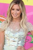 LOS ANGELES - MAR 23:  Ashley Tisdale arrives at Nickelodeon's 26th Annual Kids' Choice Awards at th
