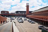 MADRID - MARCH 8: Atocha railway station on March 8, 2012 in Madrid, Spain. Atocha station is larges