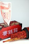 Money And Fortune Sticks