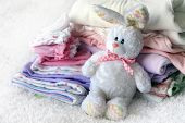 picture of dowry  - Lot of different baby clothes for the newborn - JPG