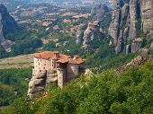 Halkidiki. Meteora monastery complex.