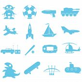 Toys and accessories for boy graphic