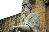 Statue Of Averroes In Cordoba