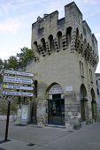 Porte de la Republique in Avignon, France
