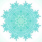 pic of boxing day  - Ornamental vector design for winter holiday card - JPG