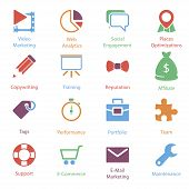 Color Internet Marketing Icons Vol 2