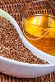 Linseeds (flax Seeds) With Linseed Oil
