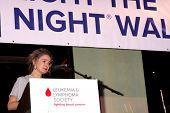 LOS ANGELES - OCT 6:  Linsey Godfrey at the Light The Night The Walk to benefit the Leukemia-Lymphom