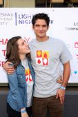 LOS ANGELES - OCT 6:  Seana Gorlick, Tyler Posey at the Light The Night The Walk to benefit the Leukemia-Lymphoma Society at Sunset-Gower Studios on October 6, 2013 in Los Angeles, CA