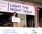 LOS ANGELES - OCT 6:  Tyler Posey at the Light The Night The Walk to benefit the Leukemia-Lymphoma S