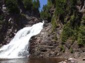 Caribou River Waterfall
