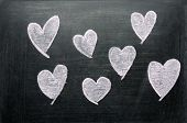Heart Drawing With Chalk