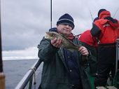 Man With Codfish