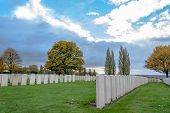 Soldiers Of The Great War Cemetery Flanders Belgium