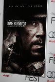 LOS ANGELES - NOV 12:  Lone Survivor Poster at the