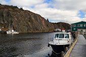 Almost Empty Docks For Fishing Boats In October - Quidi Vidi