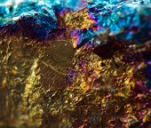 picture of iron pyrite  - Crystalnugget gold bronze copper iron - JPG