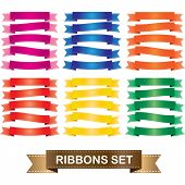 Ribbon theme set