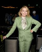 LOS ANGELES - APR 12:  Melody Thomas Scott at the Hollywood Show April 2014 at Westin LAX Hotel  on