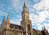 New City Hall At Marienplatz Munich
