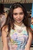 LOS ANGELES - APR 11:  Rowan Blanchard at the Despicable Me Minion Mayhem  and Super Silly Fun Land