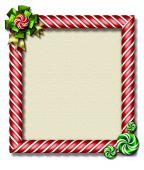 Peppermint Christmas Frame