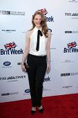 BODHILOS ANGELES - APR 22:  Ashley Bell at the 8th Annual BritWeek Launch Party at The British Resid
