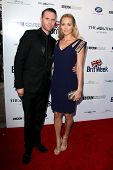 BODHILOS ANGELES - APR 22:  Laura Vandervoort, Oliver Trevena at the 8th Annual BritWeek Launch Part