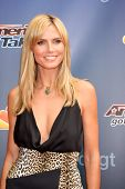 LOS ANGELES - APR 22:  Heidi Klum at the