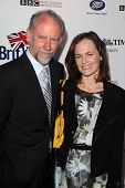 BODHILOS ANGELES - APR 22:  Xander Berkeley, Sarah Clarke at the 8th Annual BritWeek Launch Party at