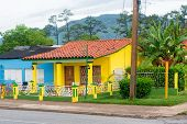 House offering rooms for rent at the rural town of Vinales in Cuba