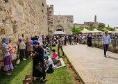 Holy Saturday In Jerusalem